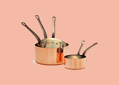 Practical tips on storing and use of copper utensils